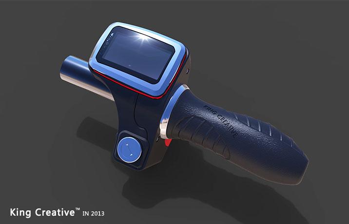 电动车液晶调速把 - 常州金纳工业产品设计有限公司